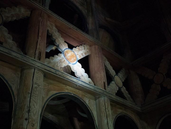 Borgund Stave Church - Norway - Saint Andrew cross