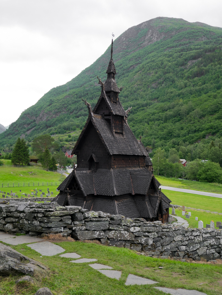 Borgund Stave Church - Norway outside