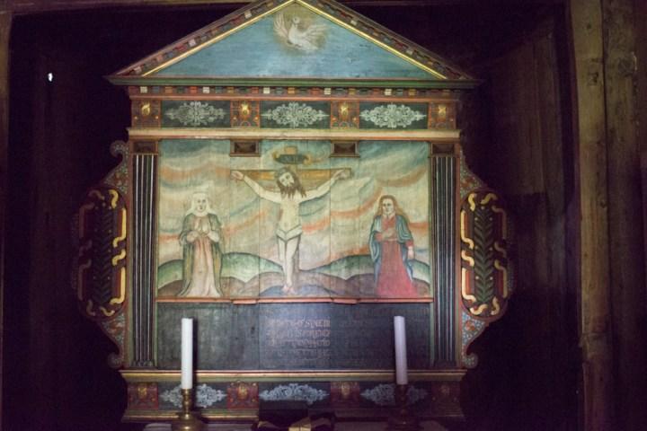 Borgund Stave Church - Norway - the altar