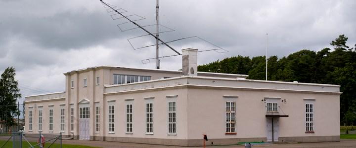 Visit of the Grimeton radio station – Sweden
