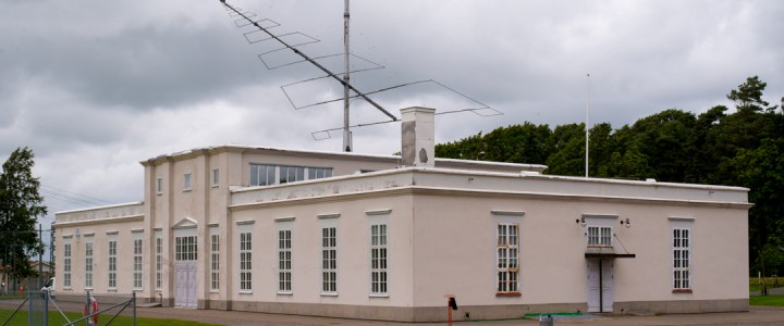 Visit of the Grimeton radio station – Sweden
