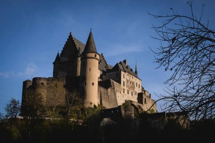 Luxembourg - Vianden Castle