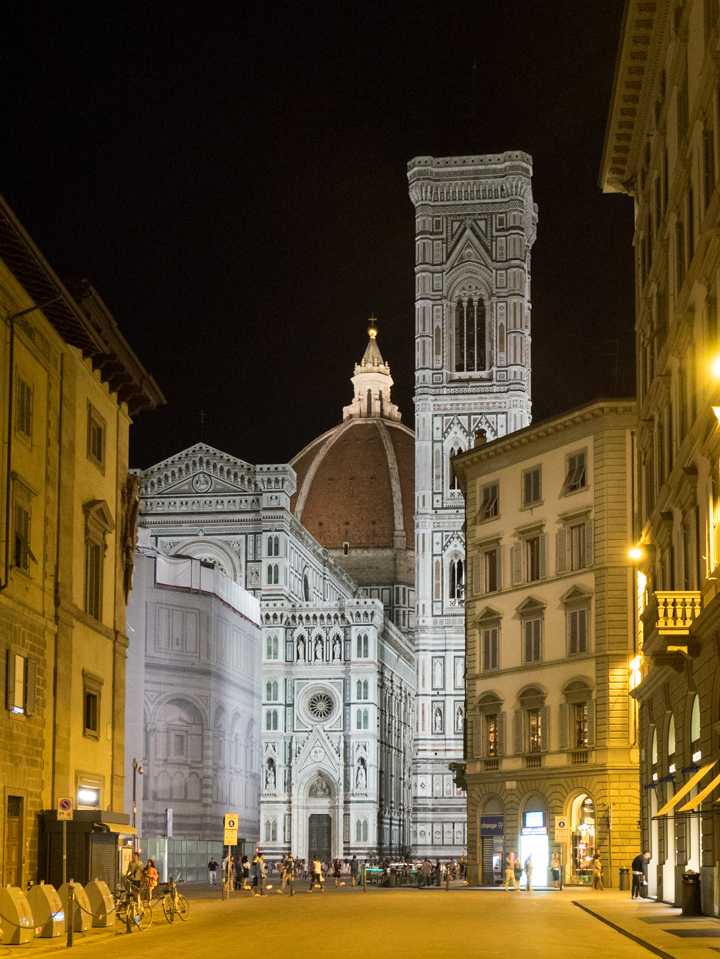 Florence - Firenze - Italy - Duomo at night