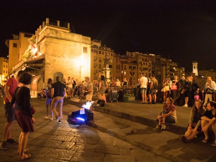 Florence - Firenze - Italy - Ponte Vecchio nightlife