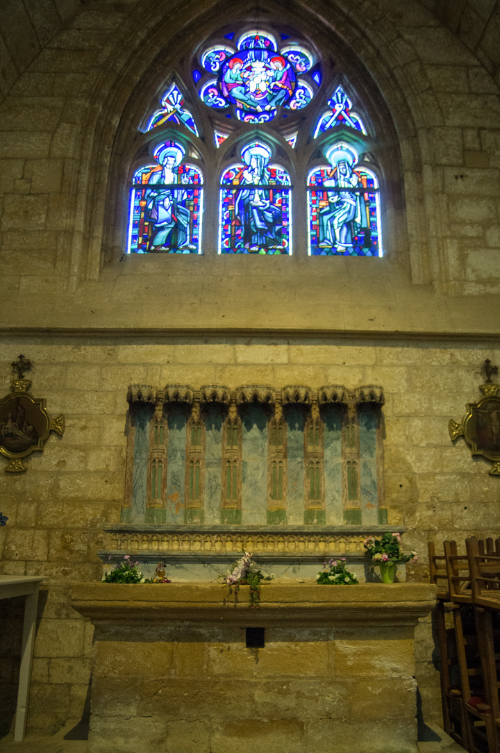 Altar - Notre Dame d'Avioth - Avioth - France