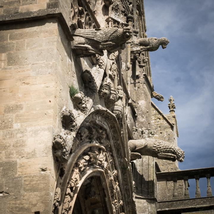 Detail of south entrance - Notre Dame d'Avioth - Avioth - France