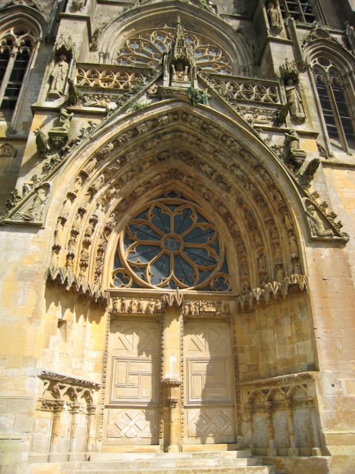 Portal - Notre Dame d'Avioth - Basilica - Avioth - France