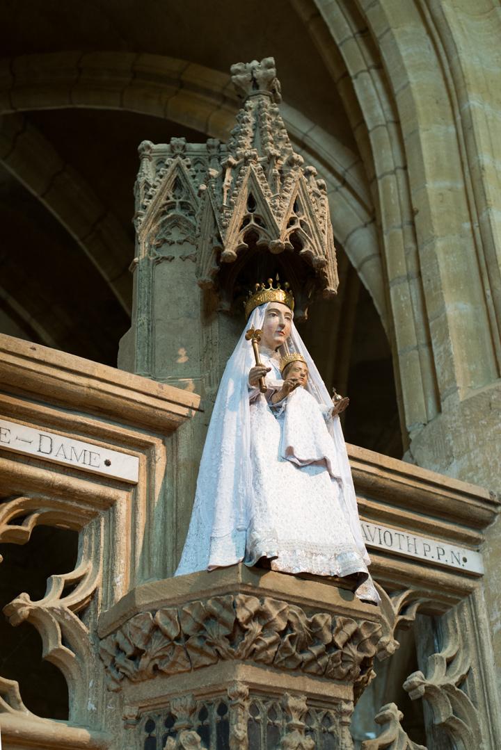 Statue Notre Dame d'Avioth - Avioth - France