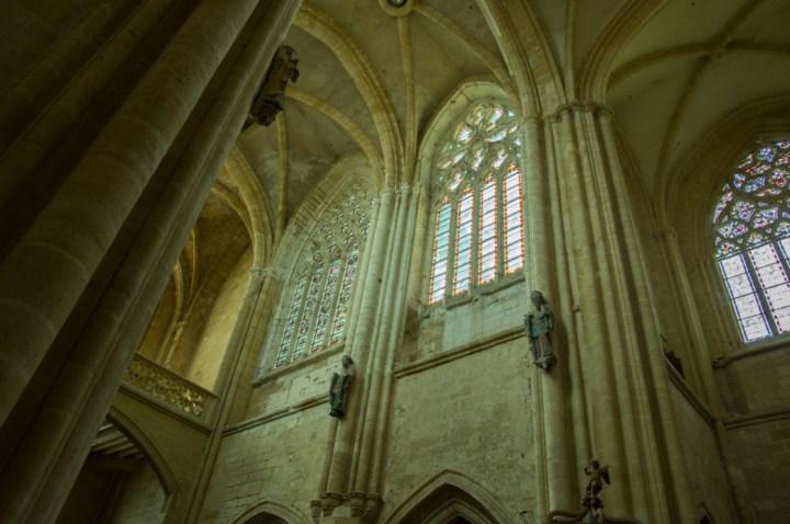 Vaulted ceiling - Notre Dame d'Avioth - Avioth - France