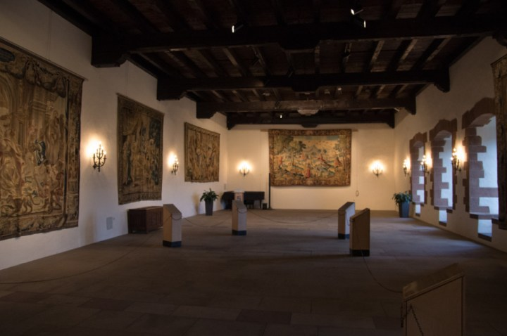 Vianden Castle - Luxembourg - Festivity Hall - Vic Abens
