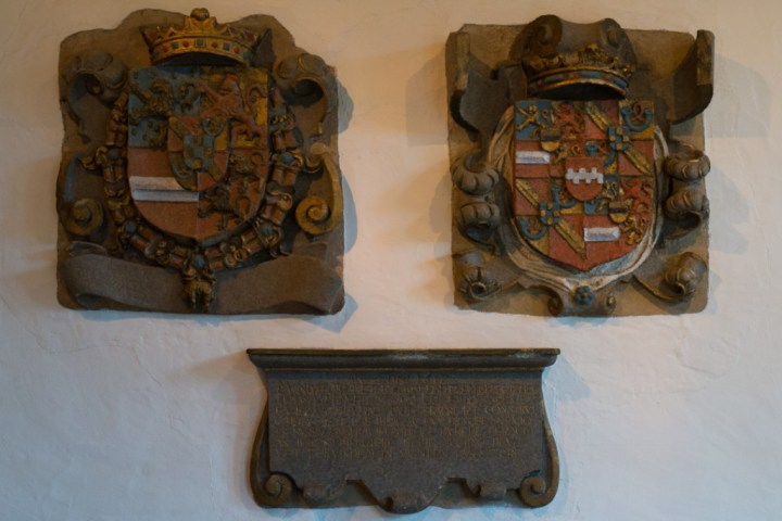 Vianden Castle - Luxembourg - coat of arms