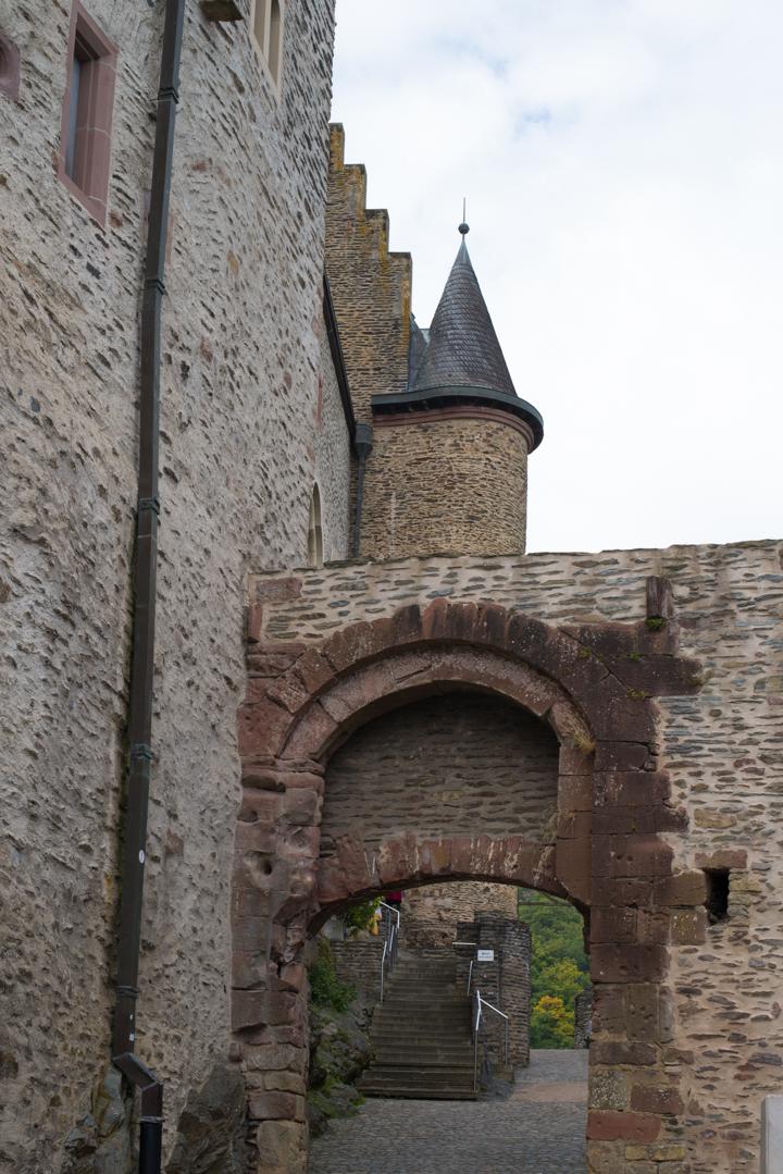 Vianden Castle - Luxembourg - portcullis