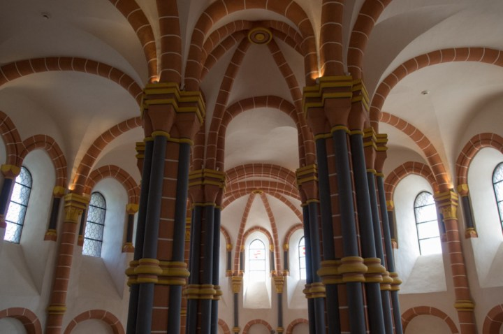 Vianden Castle - Luxembourg - the chapel above