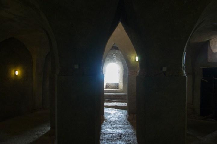 Vianden Castle - Luxembourg - the chapel below