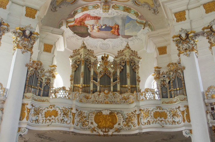 Wies Church - Wieskirche - Germany - organ