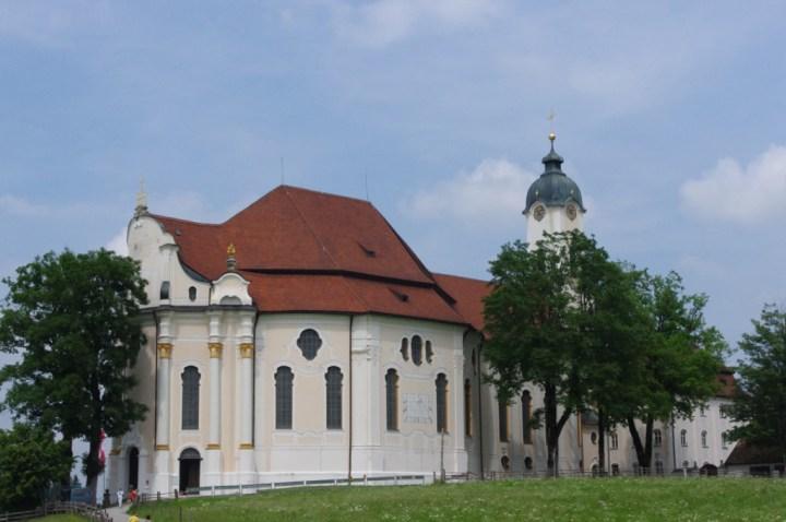 Wies Church - Wieskirche - back view - Germany