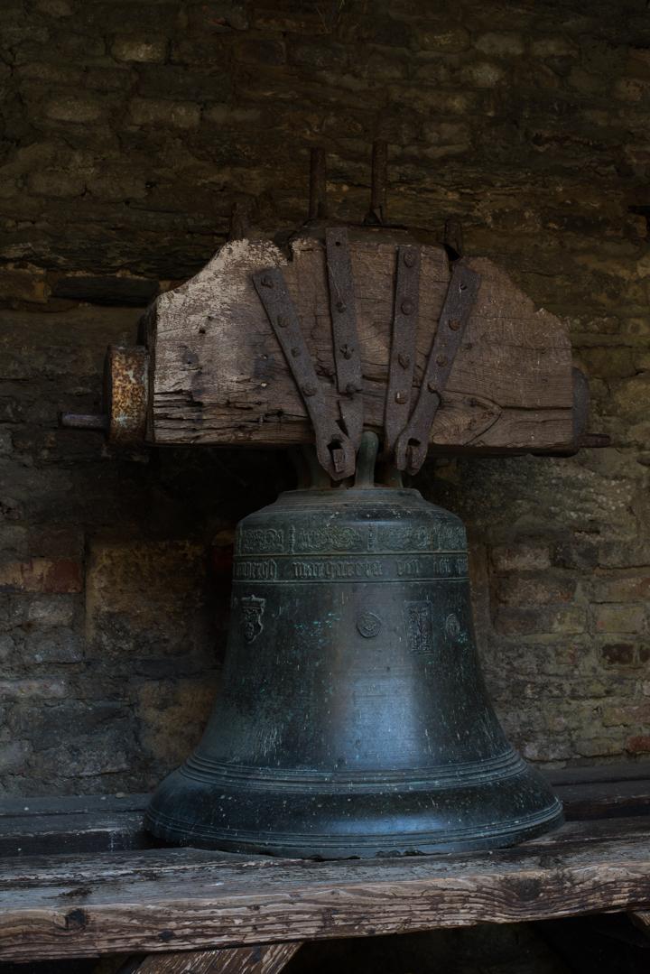 Bouillon Castle - Belgium - Godfrey of Bouillon - Sylver alloy bell- 1563