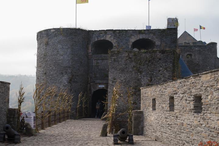 Bouillon Castle - Belgium - Godfrey of Bouillon - bridge