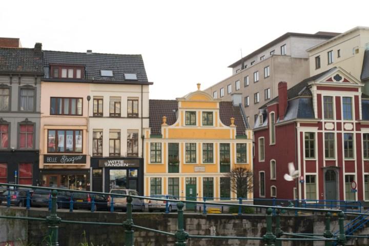Ghent - Belgium - 17th century houses