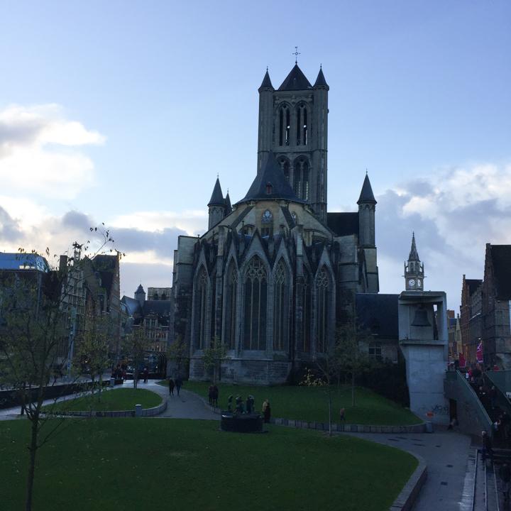Ghent church - Belgium