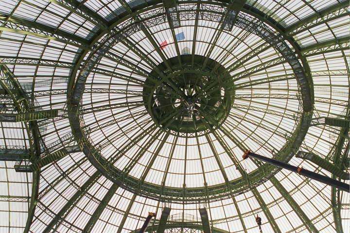 Grand Palais glass ceiling - Paris