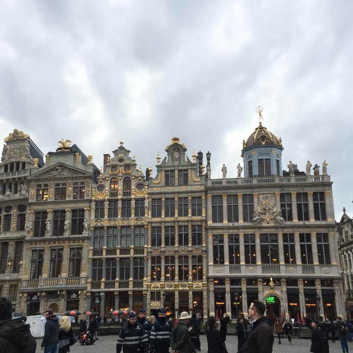 Guildhalls houses - Grand Place - Brussels - Belgium