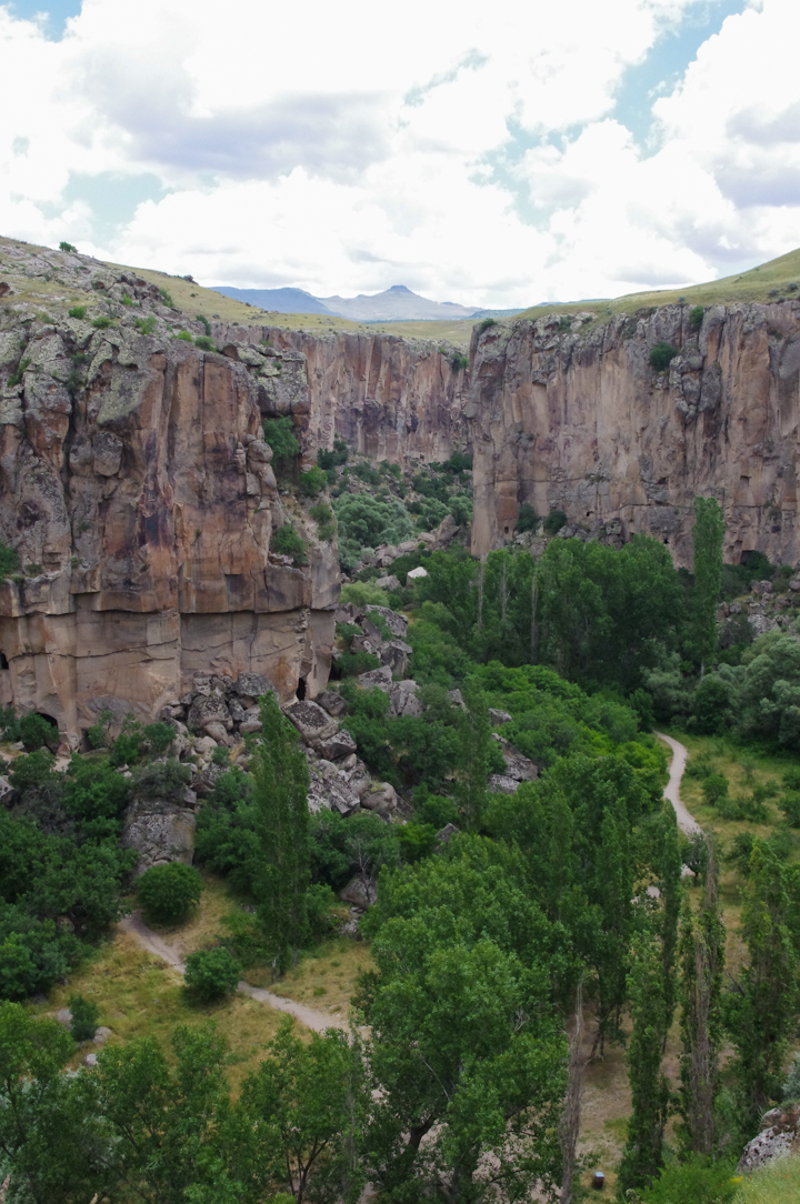 Ihlara Valley - Cappadocia - Turkey - from visitor center