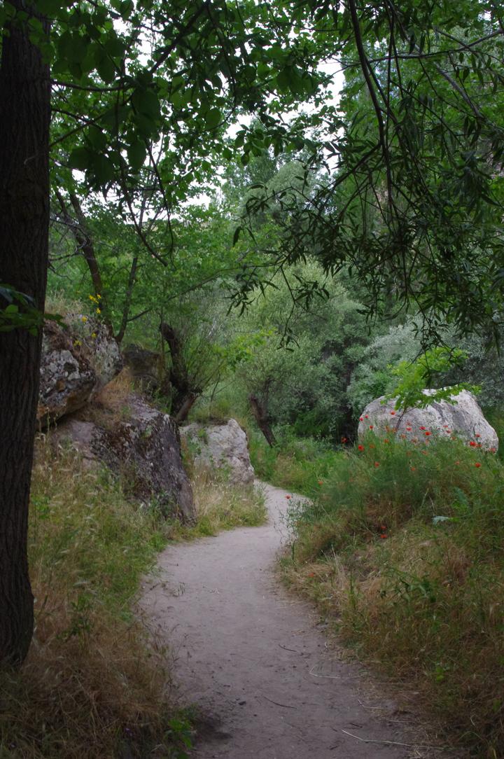 Ihlara Valley - Cappadocia - Turkey - path