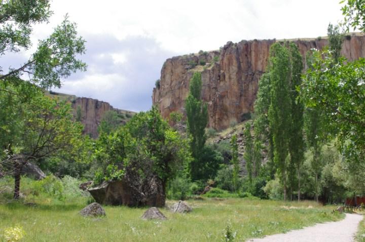 Ihlara Valley - Cappadocia - Turkey - valley