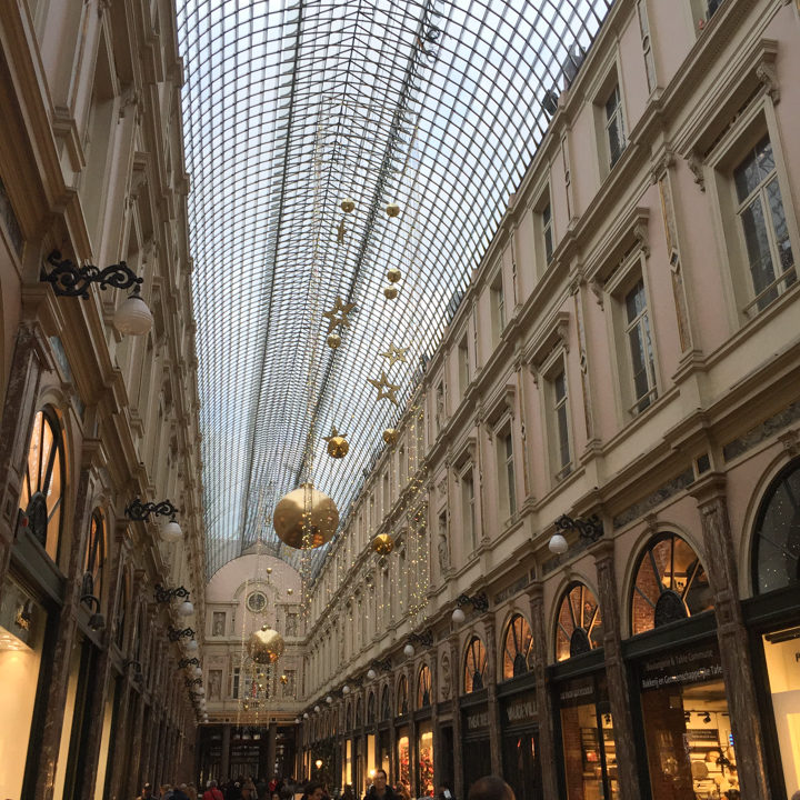 Royal Saint-Hubert Gallery - Brussels - Belgium