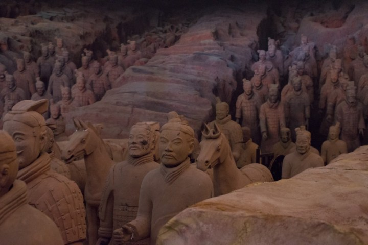 Terracotta Army of Xi'an - scene