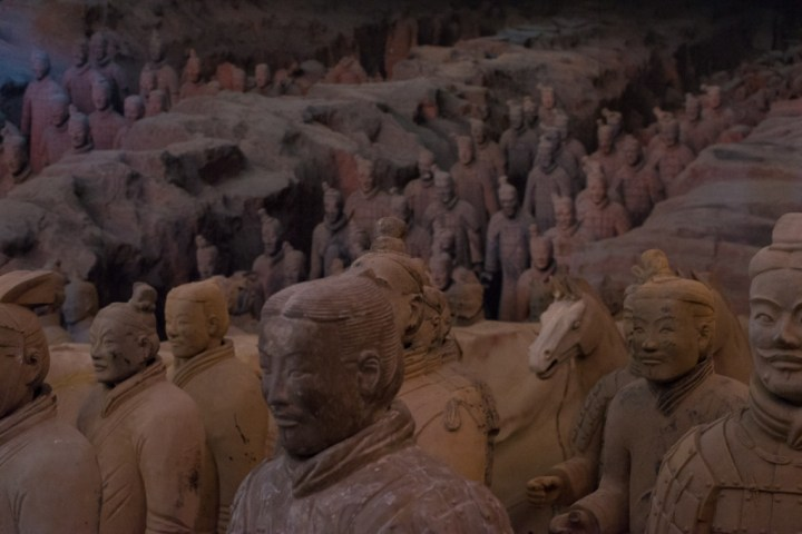 Terracotta Army of Xi'an - scene 2