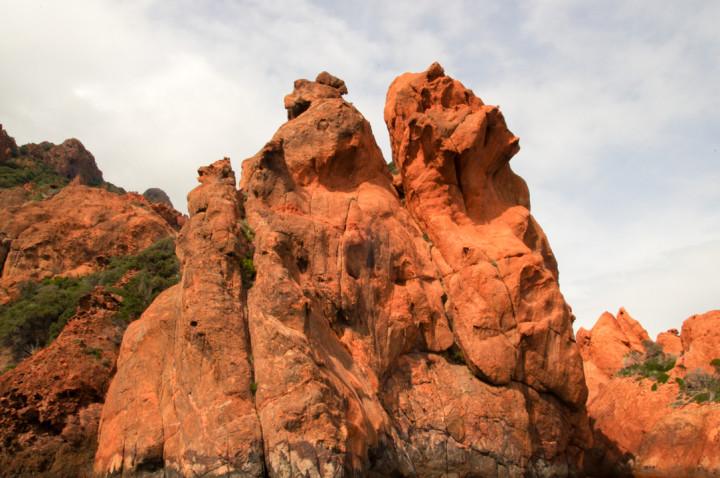 Scandola Nature Reserve - Corsica - cliffs