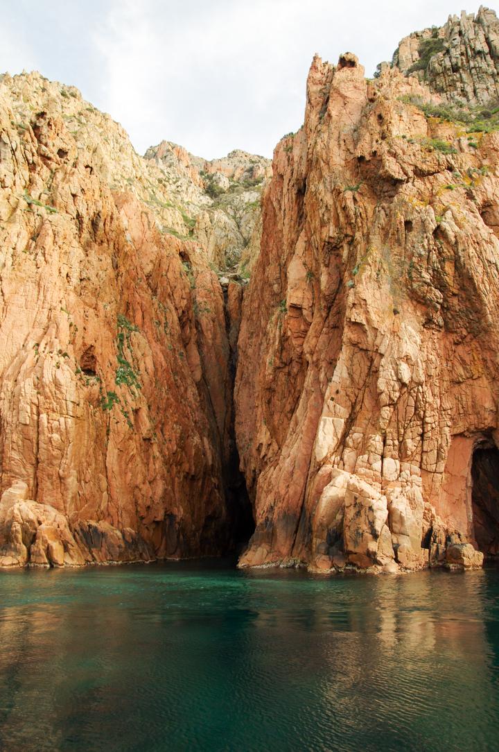 Scandola Nature Reserve in Corsica - Porto Golf calanques