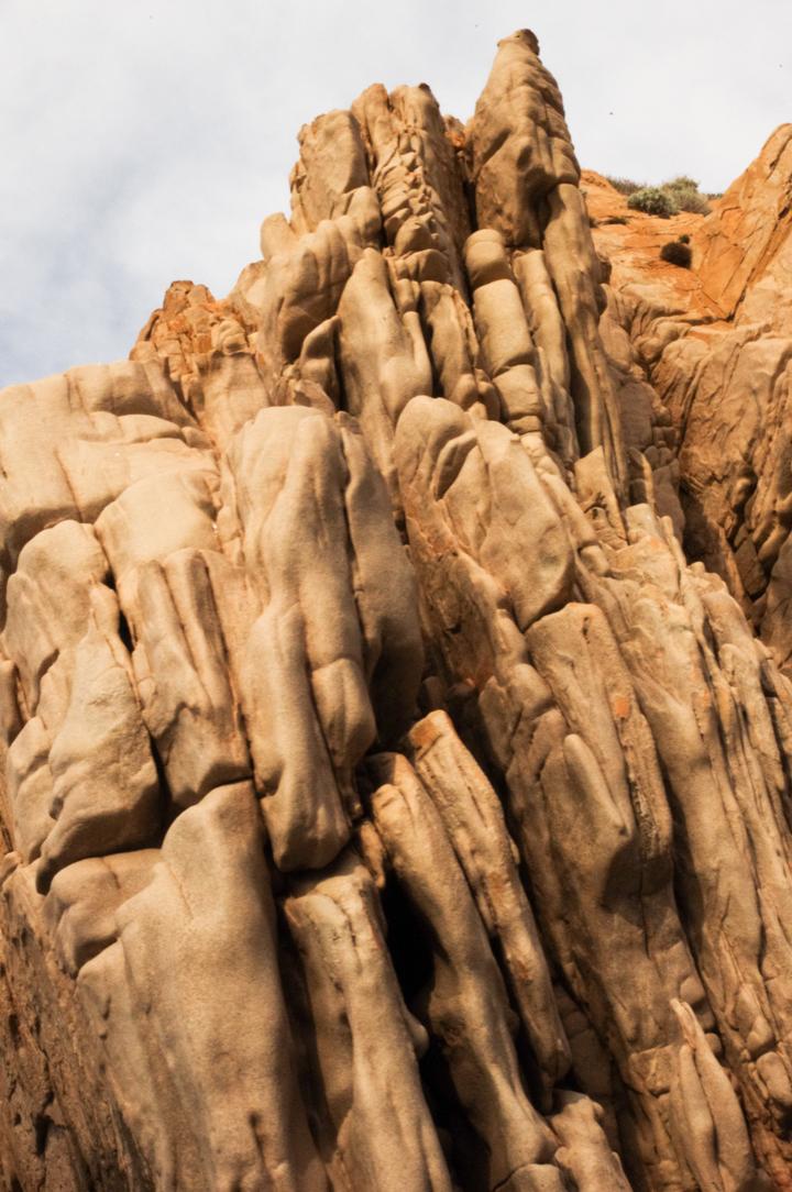 Scandola Nature Reserve in Corsica - Porto Golf cliff detail