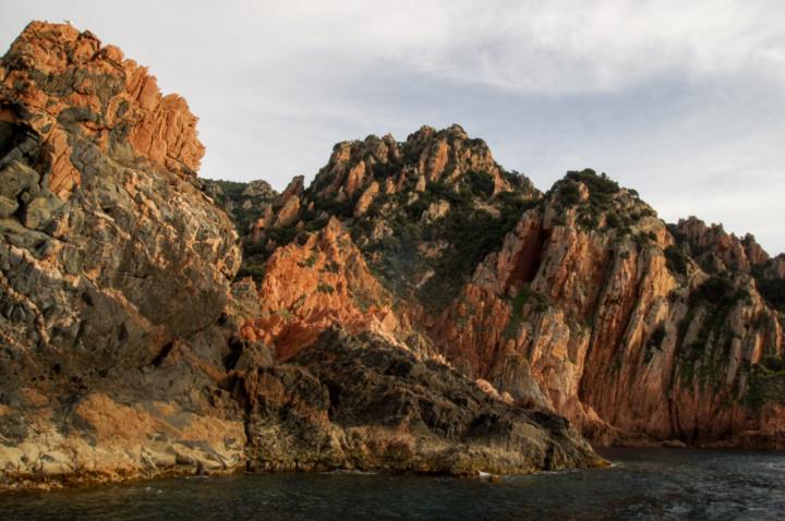 Scandola Nature Reserve in Corsica - The amazing Porto Golf calanques