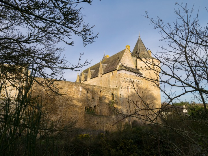 Suscinio - Brittany - France - view from the outside