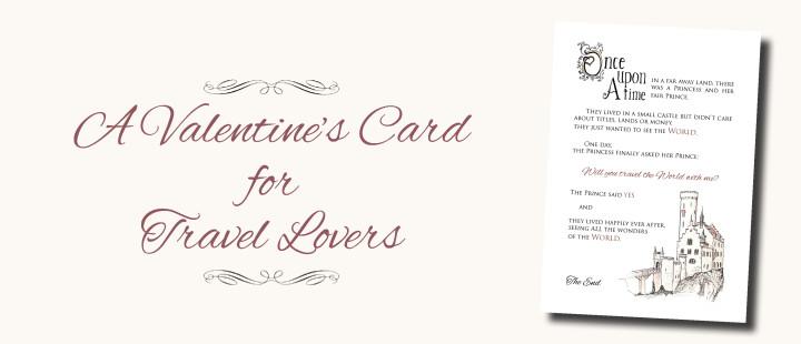 Valentine Card for Travel Lovers - roadtripsaroundtheworld.com