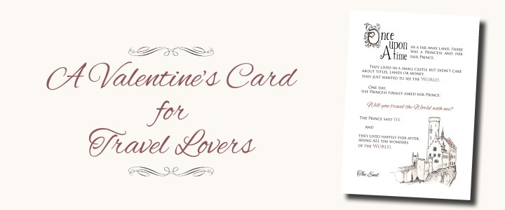 A Valentine's Card for Travel Lovers