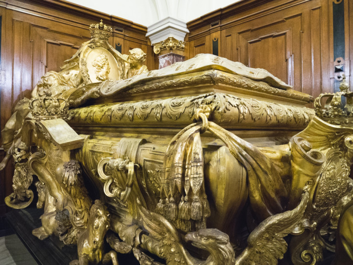 Ceremonial Sarcophagus King Friedrich I in the Berliner Dom - Berlin Cathedral - Berlin - Germany