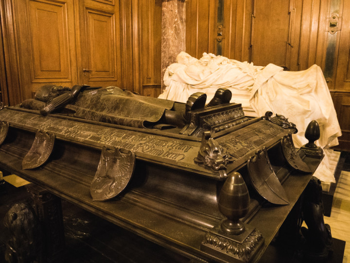 Ceremonial Sarcophagus in the Berliner Dom - Berlin Cathedral - Berlin - Germany