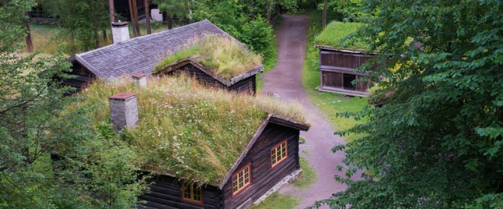 Visit of the Norsk Folkemuseum in Oslo: the World's oldest open air museum