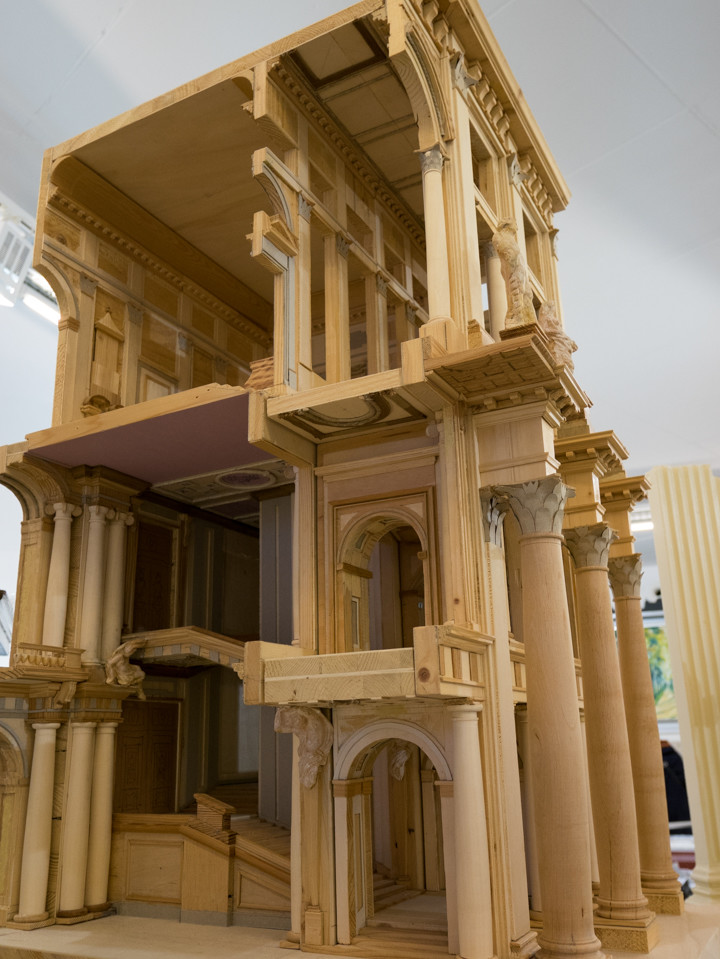 Scale model of the City Palace - Berlin - Germany