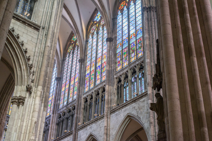 Stained Glass in the Cologne Cathedral