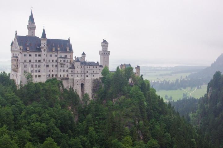 The Neuschwanstein Castle, Germany - roadtripsaroundtheworld.com