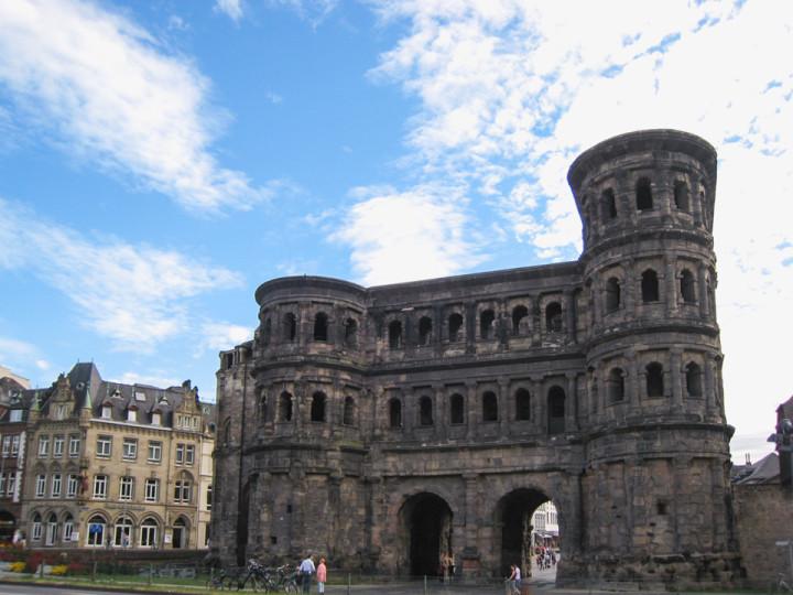 The Porta Nigra in Trier, Germany - roadtripsaroundtheworld.com