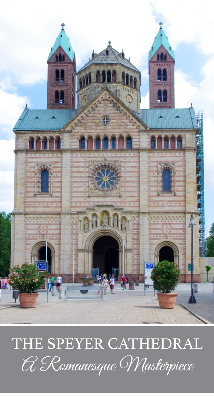 The Speyer Cathedral in Germany, the greatest Romanesque Cathedral in the World - Visit roadtripsaroundtheworld.com to learn more