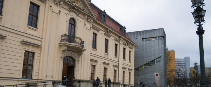 Visit of the Jewish Museum in Berlin