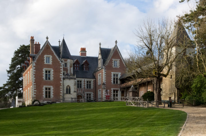 View of the Clos Lucé, France from the Garden - Find out more on roadtripsaroundtheworld.com