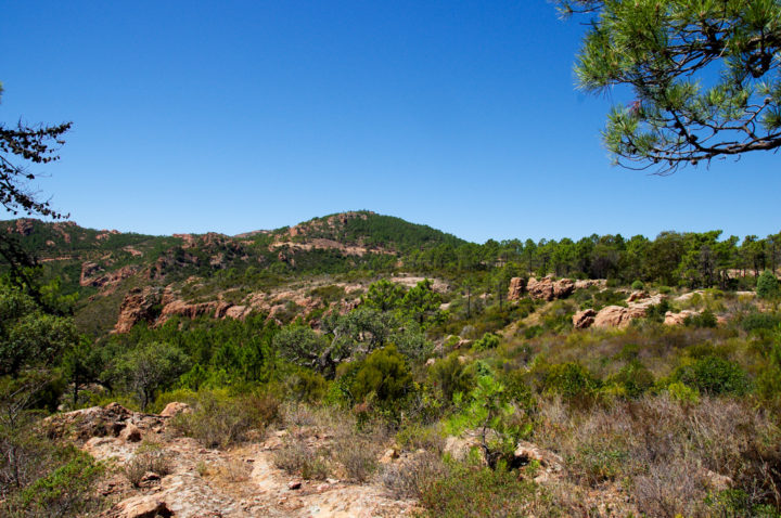 View of the Esterel, France - Learn more on roadtripsaroundtheworld.com